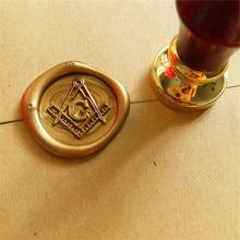 Sceau de sceau et cire à sceller   Masons, logo gratuit et accepté de maçon, Compasses et trisquare G