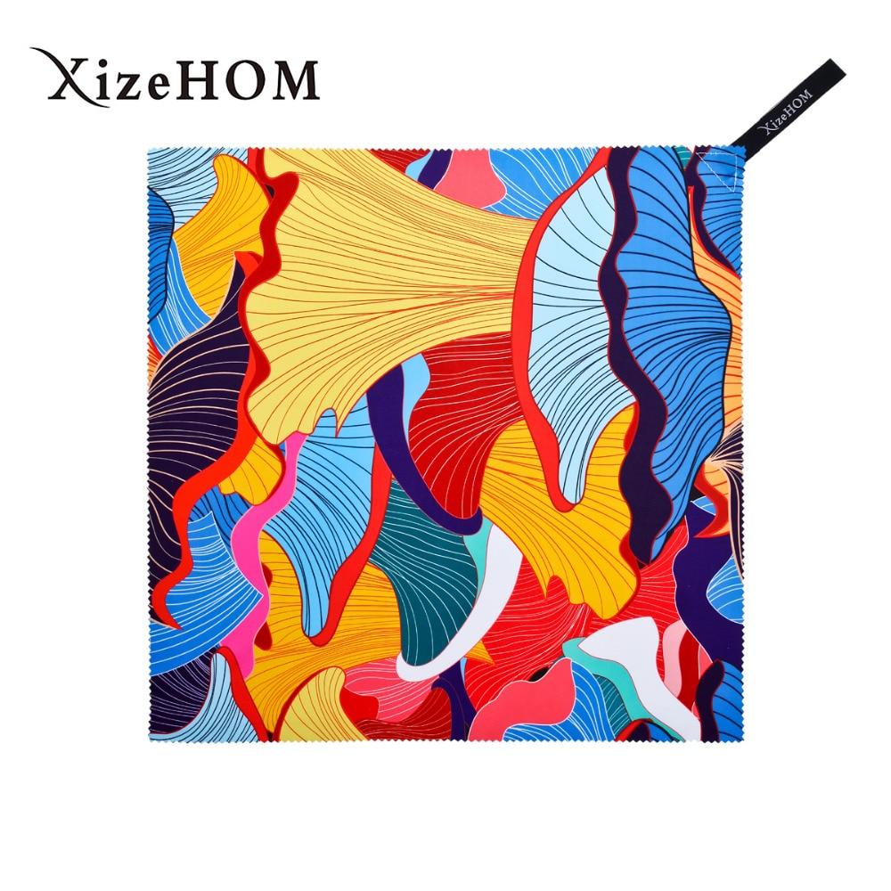 Paño de limpieza de microfibra tipo suspensión XizeHOM (36*36 cm/2 piezas) 2017 nuevos productos