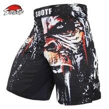 SUOTF MMA boxe sport pour hommes, orangoutan à motifs de personnalité, respiration, Fitness, short de boxe thaïlandais, grand format, tigre Muay thaïlandais, kickboxing