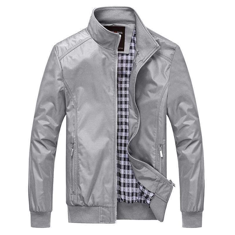 Bomber Jacket Men 2019 Summer Brand Men Basic Jacket Coat Casual Male Solid Lightweight Windbreaker
