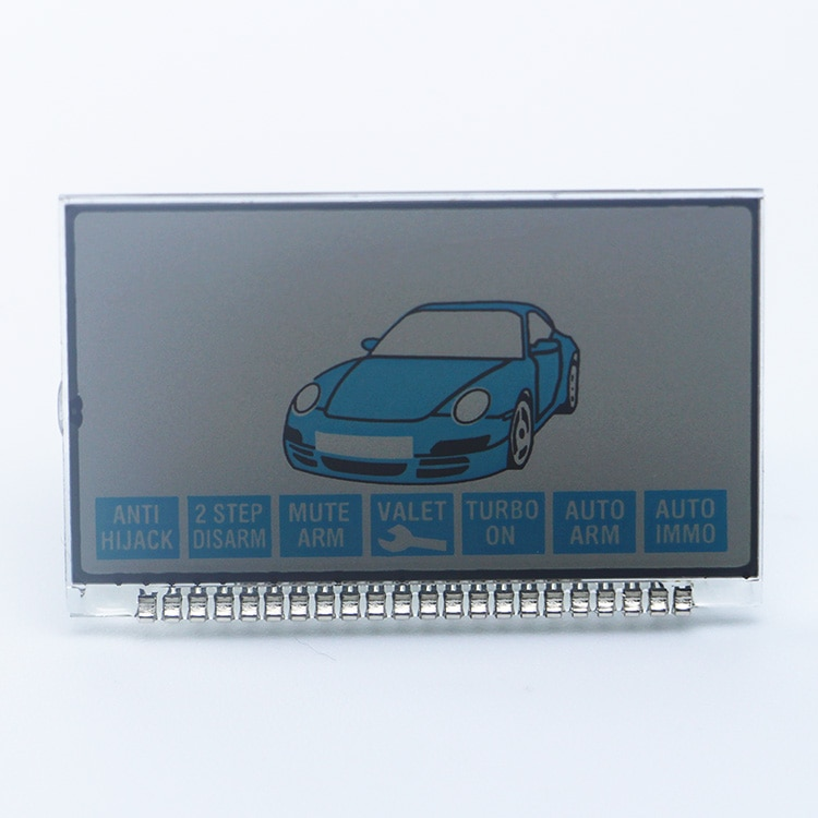2-way sistema de alarme de carro b6 display lcd tela para dois sentidos enginer stater starline b6 lcd remoto