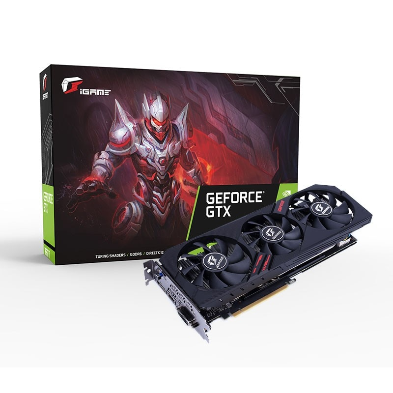 Colorful iGame GeForce GTX 1660 Ti Ultra 6G Gaming Video Card 6GB 192bit GDDR6 1845Mhz PCI-EX16 3.0