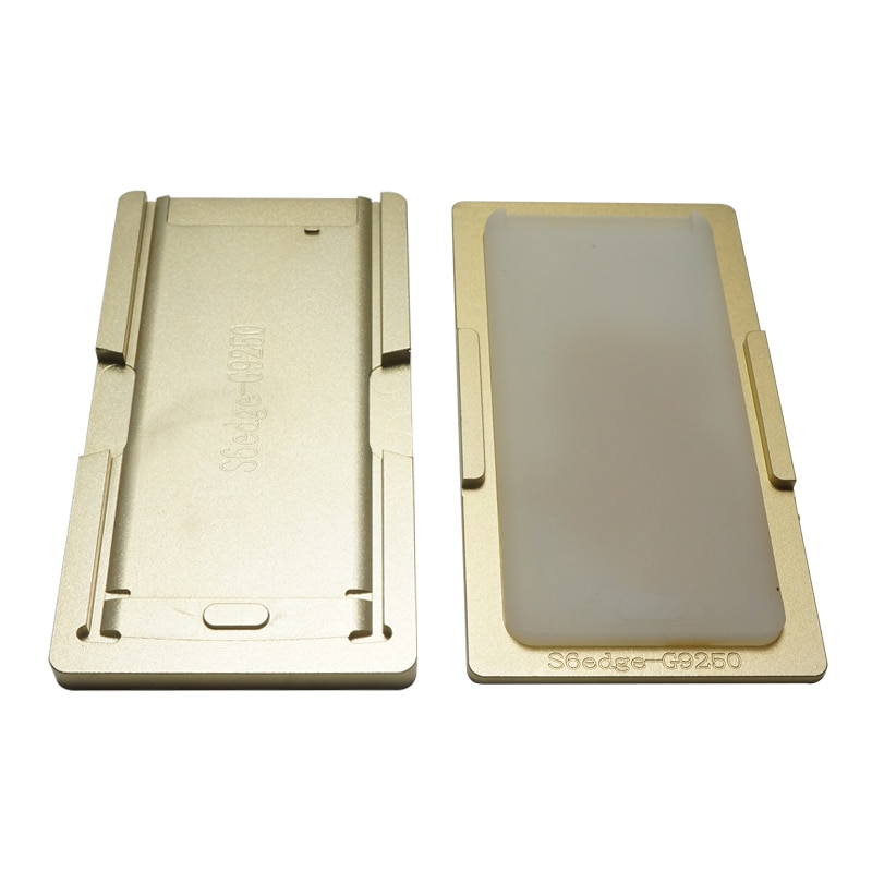 Aluminium Mould Laminator Metal Mold Jig for Front Glass with Frame Align & OCA Laminate Mould for Samsung S6 EDGE S6+ edge S7 enlarge