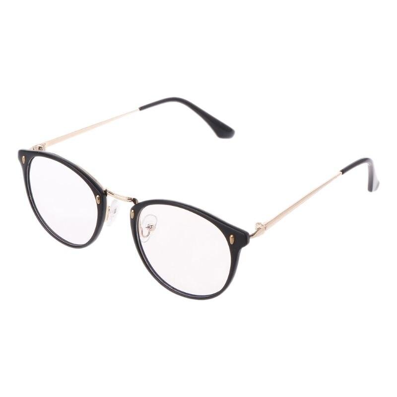 Retro Männer Frauen Klare Linse Brille Rahmen Designer Optische Computer Gläser Blau Licht Blockieren