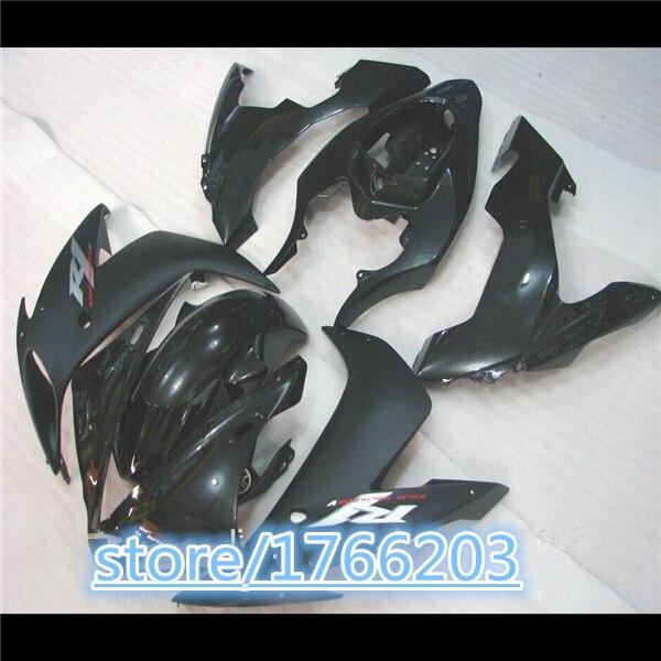 100% جديد أسود هيكل السيارة ل YZF R1 04 05 06 YZF-R1 04-06 YZF1000 YZF R1 2004 2005 2006 ABS هدية مجموعات BBF