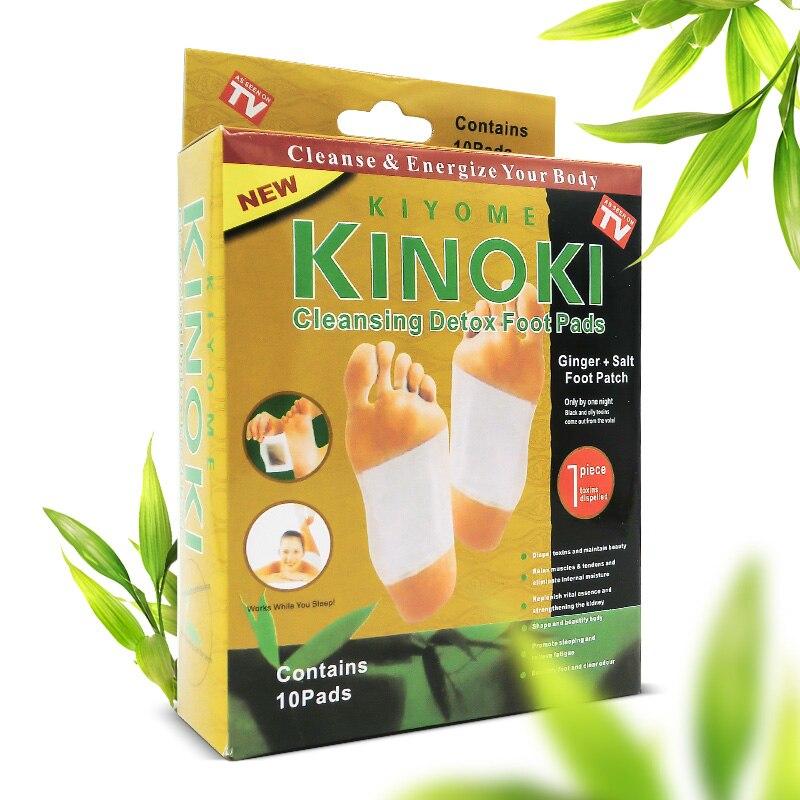 Opakowanie detaliczne GOLD Premium Kinoki plastry detoksykujące do stóp oczyść pobudzaj swoje ciało (1 partia = 10 pudełek = 200 sztuk = 100 sztuk łatek + 100 sztuk kleju) 2017