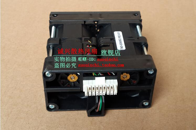 Delta GFB0412EHS 740-036952 REV01 DC 12V 1.82A ventilador cuadrado para servidor