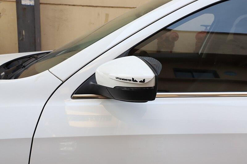 Автомобильные аксессуары, зеркало заднего вида, резиновый стикер, защита двери, защита от столкновений, клей для SsangYong korando kyron