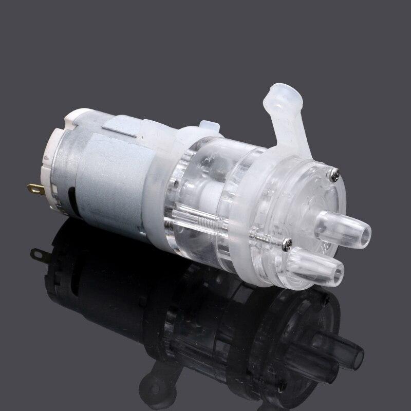 385 DC 6V-12V de alta resistencia a la temperatura de 100 grados Celsius Mini bomba de agua Micro bomba de agua de diafragma de la bomba de vacío