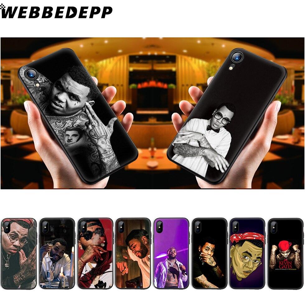 WEBBEDEPP Kevin Gates funda de silicona suave para iPhone 11 Pro Xr Xs Max X o 10 8 7 6 6S Plus 5 5S caso 8 Plus