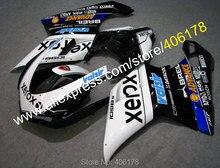Bodywork Motorcycle Fairing For 848 1098 07-11 1098S 1198 2007-2011 Fairing Kit White Black Blue (Injection molding)
