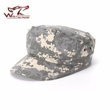 WOLFSLAVES тактическая Кепка страйкбола восьмиугольная армейская Кепка Военная АКУ CP камуфляжная шляпа для охоты Боевая солдатица Охотничьи аксессуары