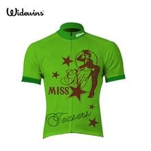 Nouveau rose bonjour miss cyclisme jersey été à manches courtes cyclisme chemise fleur vêtements de vélo cool panthère cycle vêtements 5043