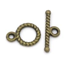 DoreenBeads 50 Sets Bronze Tone Toggle Clasps 11x9mm 12x9mm (B14510), yiwu