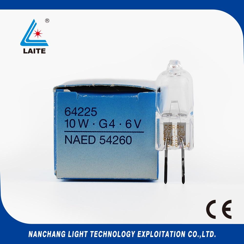 original Germany JC 6V20W G4 ESB halogen lamp 6V 20W 2 pins capsule microscope bulb free shipping-10pcs