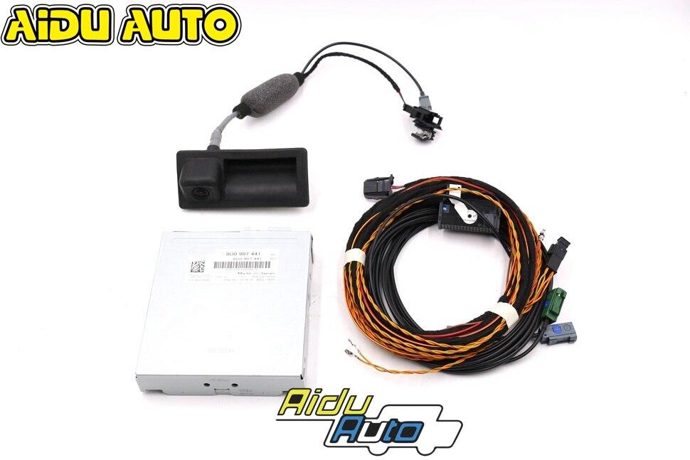 AIDUAUTO-caméra de marche arrière RVC   Pour Audi Q3, 8U0 907 441 & 5N0 827 566 AA