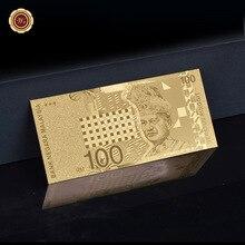 WR-cadeau de vacances malaisien   Offre spéciale de billets de dieu 100 Ringgit Souvenirs de notes damis pour décoration et Collection de maison, taille 11