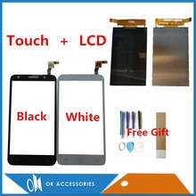 Zwart Wit Kleur Voor Alcatel Pixi 4 4g LTE OT5045 OT5044 5045A 5045D 5045g Lcd-scherm + touch Digitizer Met Tape Gereedschap