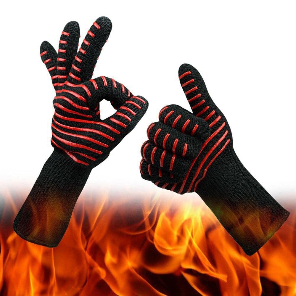 Guantes de cocina resistentes al calor para barbacoa, 1 pieza, guantes de soldadura para barbacoa, gran oferta 4,3