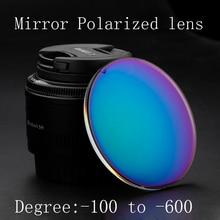 Custom Myopia sunglasses Prescription nearsighted lens women men discount sun glasses mirror polarized lens Optics eyewear
