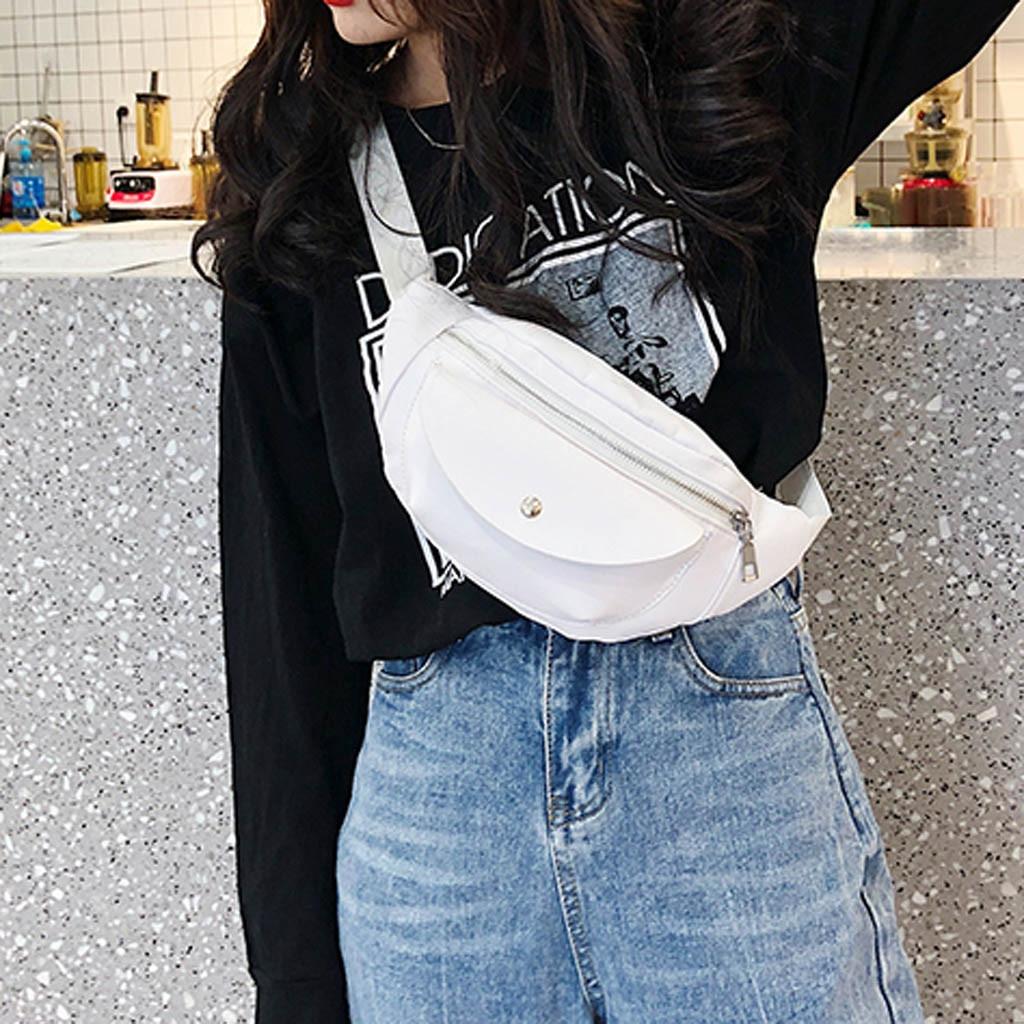 Masculino feminino fanny packs moda à prova dwaterproof água ombro crossbody bolsa cintura masculina marsupio uomo sac banana banano de cintura 2019