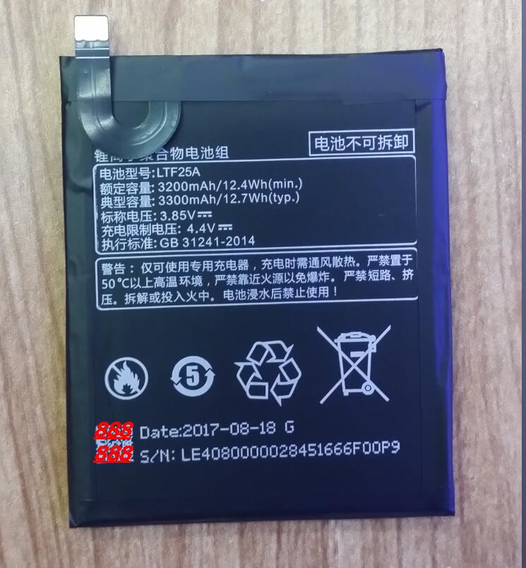 100% Original Backup For LETV 3S LTF25A Battery For For LETV 3S LTF25A Smart Mobile Phone+ + Tracking Number+ In Stock enlarge