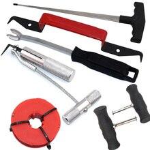7 шт. набор инструментов для удаления ветрового стекла автомобиля