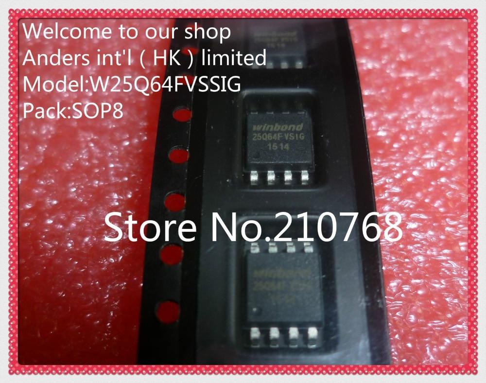 100% nuevo original W25Q64FVSSIG W25Q64FVSIG 25Q64FVSSIG 25Q64FVSIG W25Q64 25Q64 SOP8