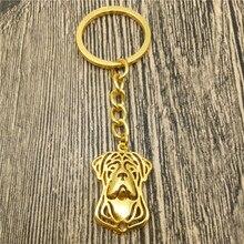 Cane Corso Key Chains Fashion Pet Dog Jewellery Cane Corso Car Keychain Bag Keyring For Women Men