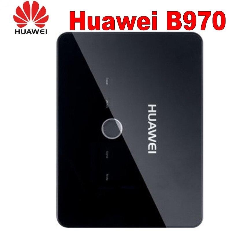 Huawei desbloqueado huawei b970 roteador 3g gsm wifi roteador