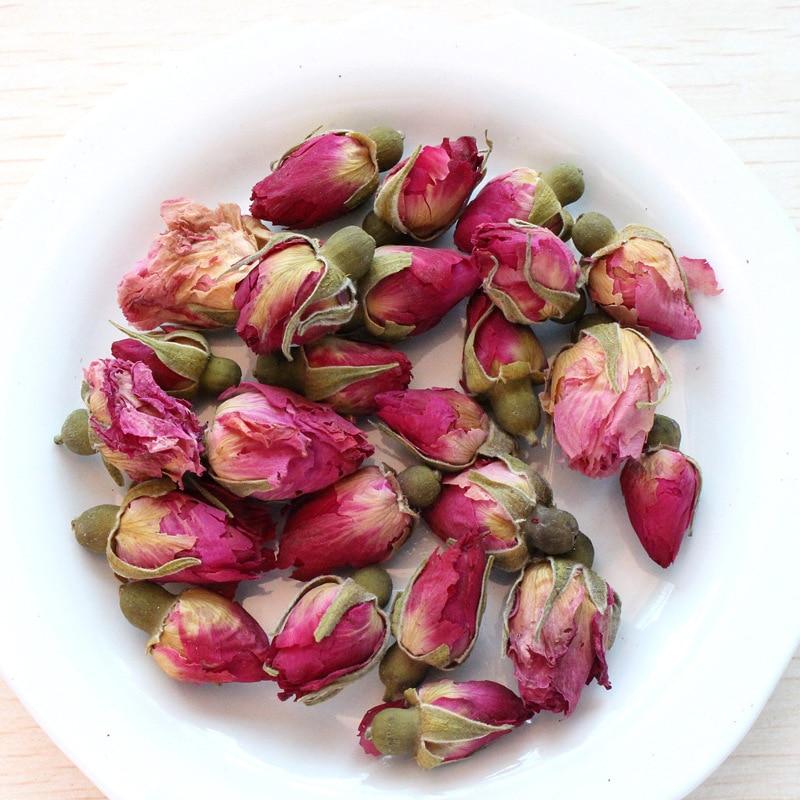 Aromeasy 100g Premium seco Rosa jazmín lavanda Bud 100% Aroma Natural orgánico seco Rosa jazmín lavanda flor para bolsita DIY