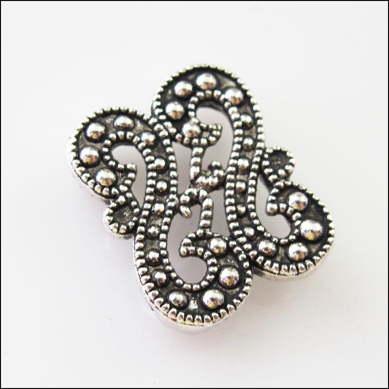 "10Pcs Tibetischen Silber 2-2 Loch ""S"" Spacer Bar Perlen Anschlüsse Charms 14x 17,5mm"