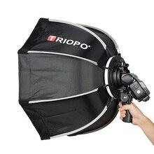 TRIOPO 65cm parapluie Softbox Portable extérieur octogone pour Godox V860II TT600 TT685 YN560 III IV TR-988 Flash Speedlite boîte souple