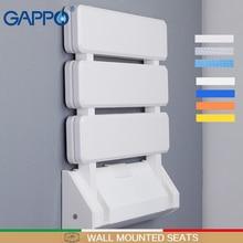 GAPPO mur monté douche sièges plastique chaise pliante salle de bain tabouret taburée Durable Relax chaise toilette banc pour douche