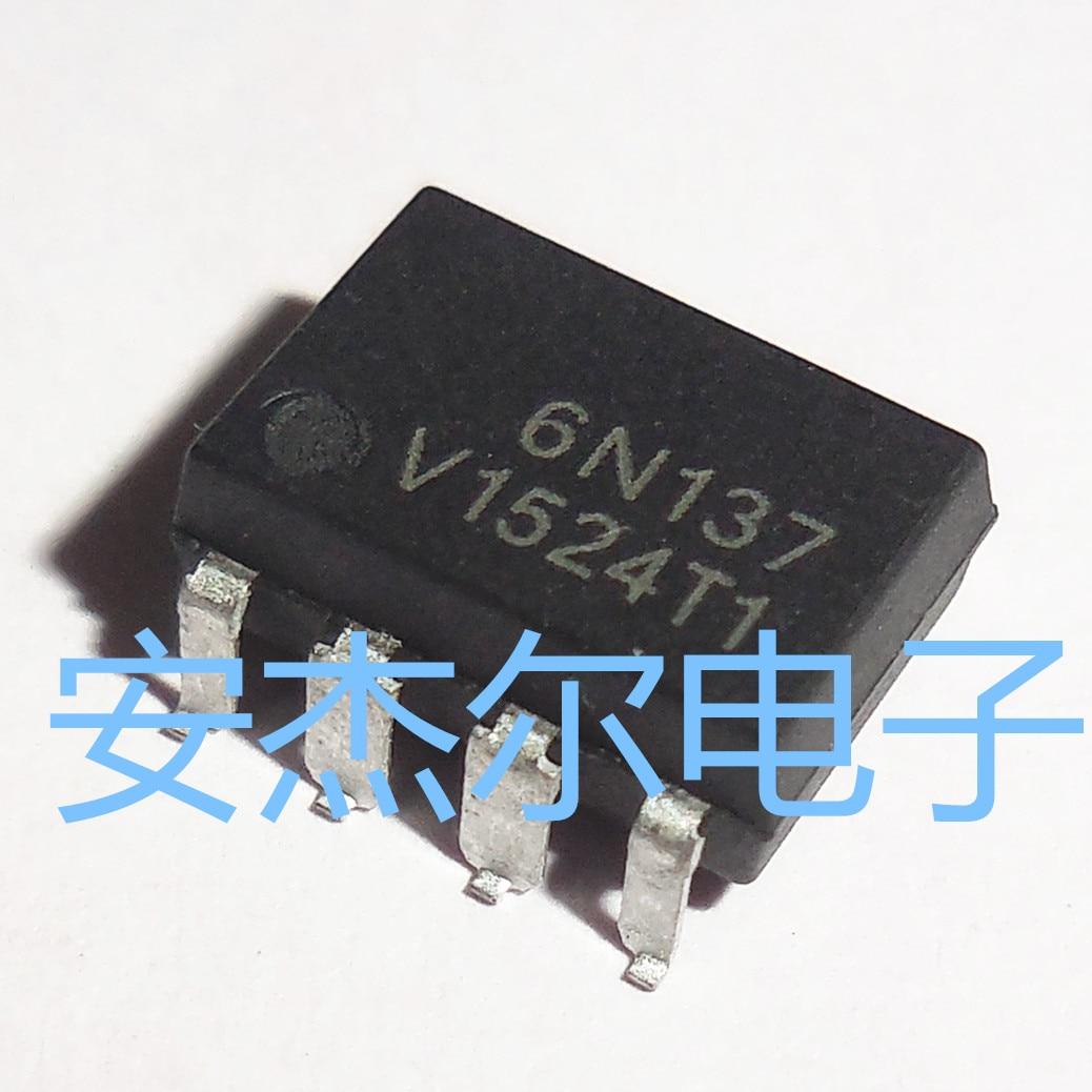 10 unids/lote 6N137S 6N137 SMD-8 en Stock