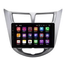 2 + 16 GB Android auto dvd gps multimedia voor Hyundai Accent Verna Solaris met wifi/bt/usb/3g/camera/dvr/swc/digitale TV