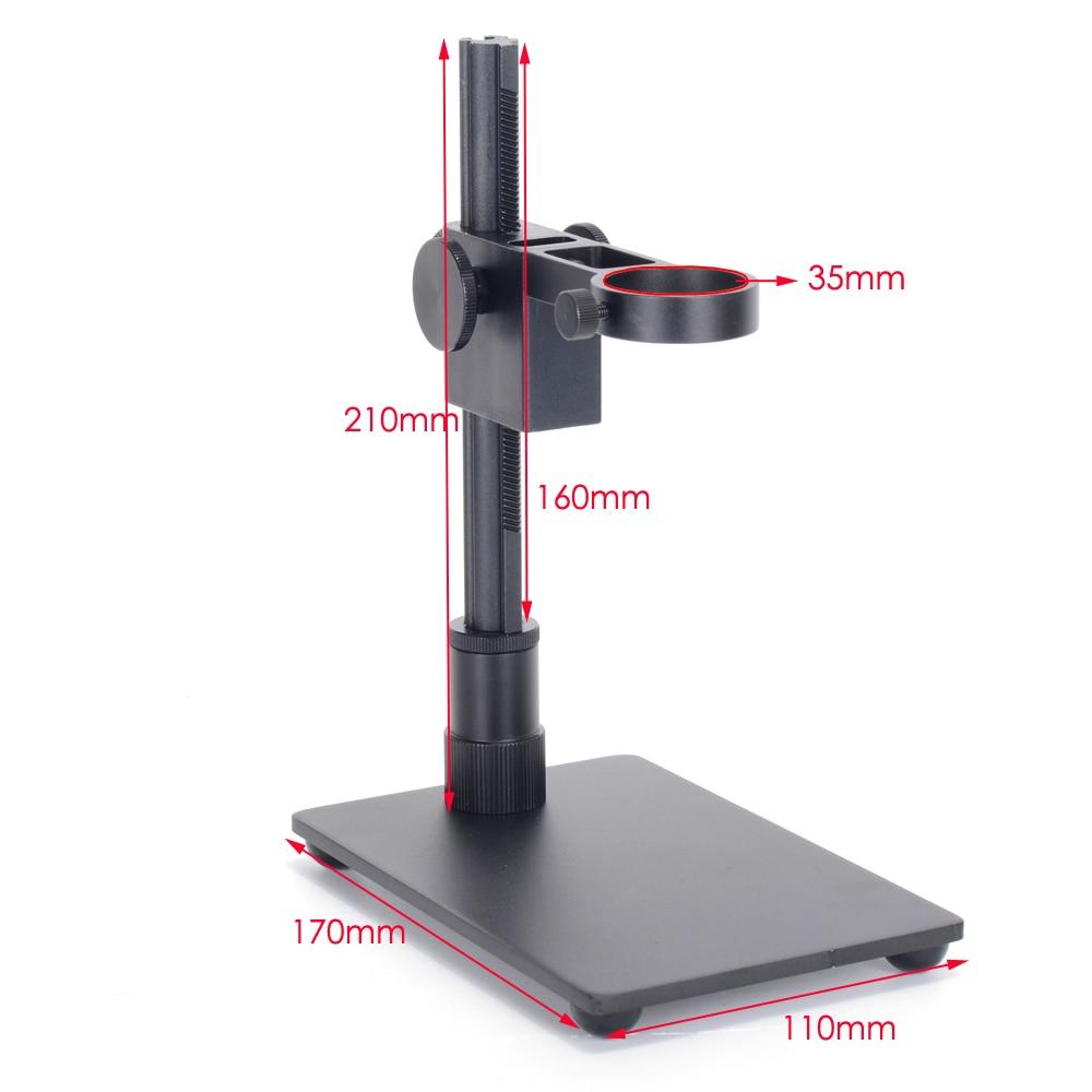 "Soporte Universal ajustable para microscopio Digital, endoscopio, cámara con aumento de 1,4 ""de diámetro, USB"