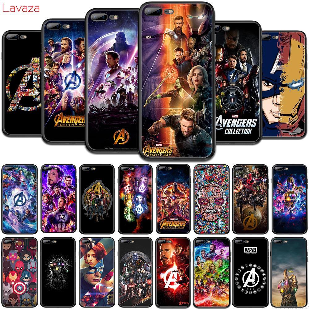 Lavaza Avengers Marvel comics TPU Phone Case for OPPO F5 F11 R15 R17 Pro A1 A3S A5s A7 A37 A57 A73 A83 Soft Cover