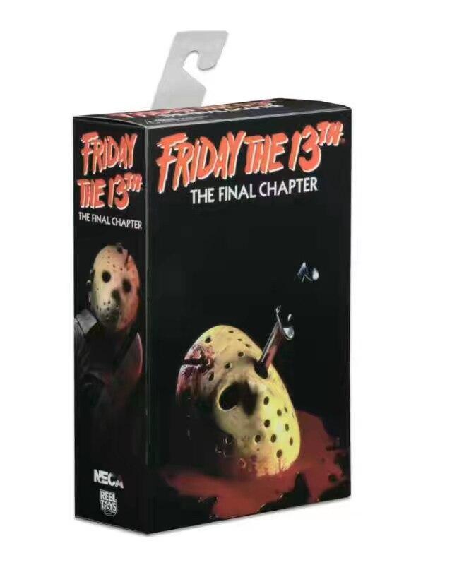 Nueva película de terror clásica NECA Friday The 13th The Final Chapter Killer Jason 18cm figura de acción