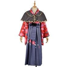 Love Live Sunshine Cosplay Costumes Aqours Kurosawa Dia Taisho Kimono Yukata Dress Outfit Anime Cosplay Costumes
