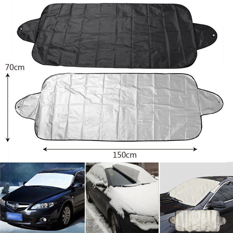 Car Truck Windshield Snow Cover Ice Dust Frost Freezing Sun Shade Protector Magnetic Winter Summer Front Window Windscreen Cover