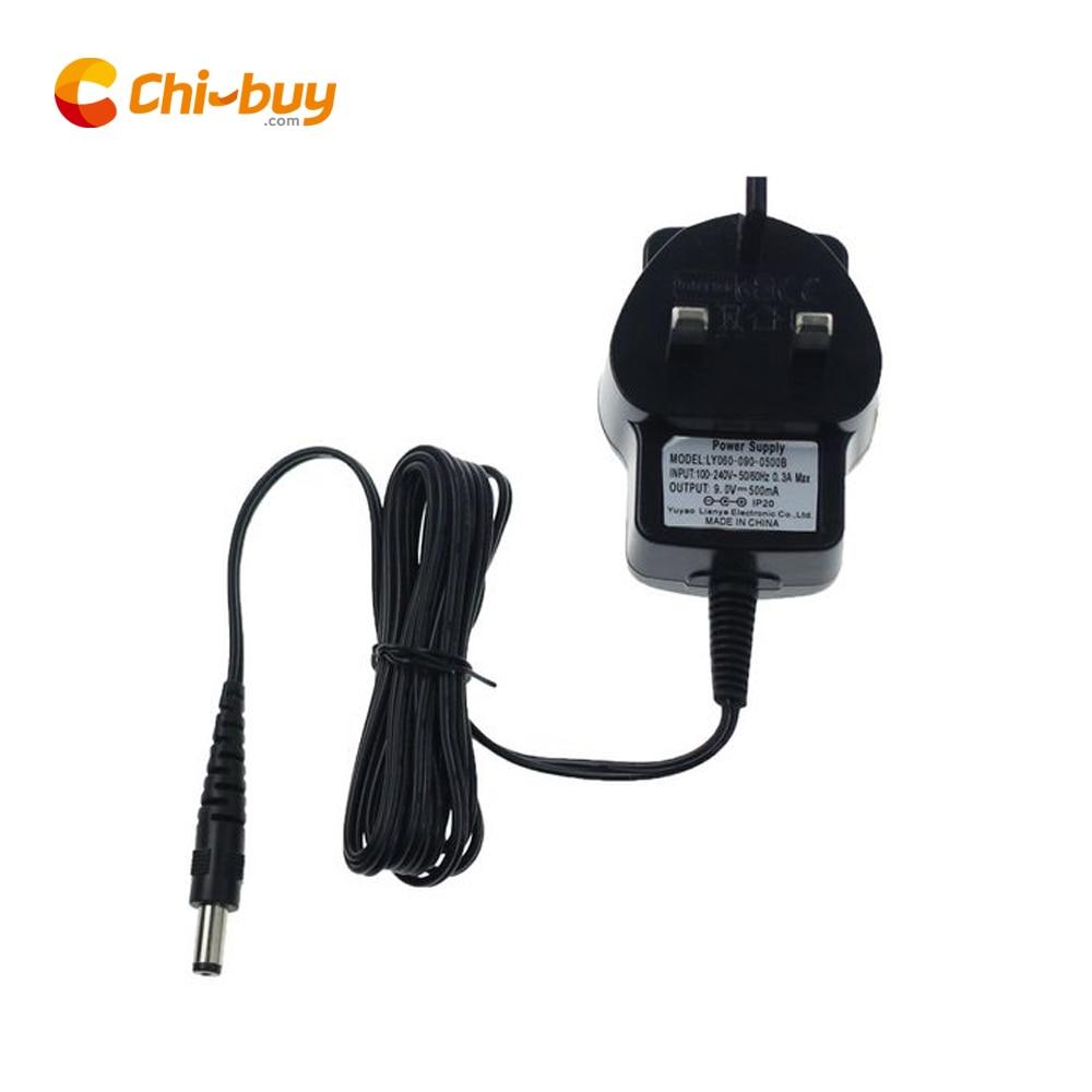 CHIBUY Cinema Lightbox DC adaptador de fuente de alimentación 9V DC 500mA UK plug 5,5*2,1mm para A3/A4/A5 tamaño LED caja de luz cinematográfica