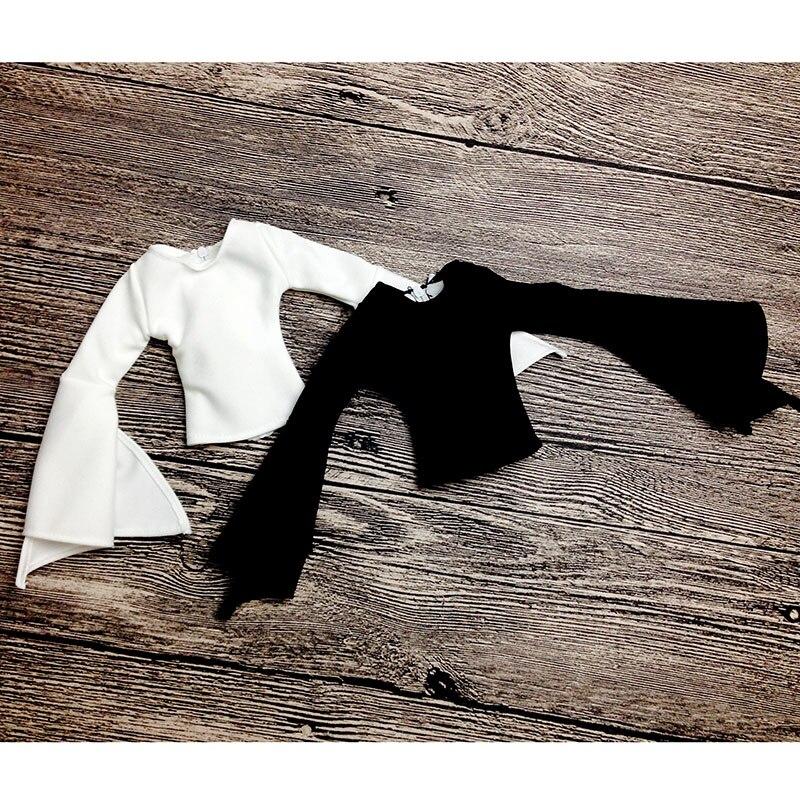 T02-X514 Blyth st Doll clothes 1/3 1/4 bjd 1/6 dolls Accessories white color Sleeve top 1pcs