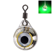 False Bait Flashing Fishing Lure Lamp Underwater Tools Electronic Eye Shape Deep Drop Squid Illuminous Emitting Led Light L0303