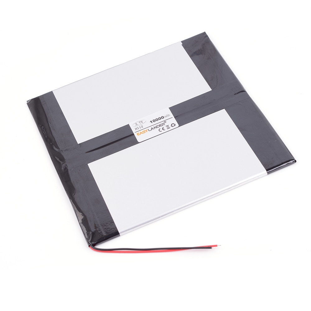 "3.7V 10000mAh Rechargeable li-Polymer Battery For CHUWI Hi12 Dual System 64G Chuwi HI10 plus CWI527 CW1527 10.8"" Tablet PC"