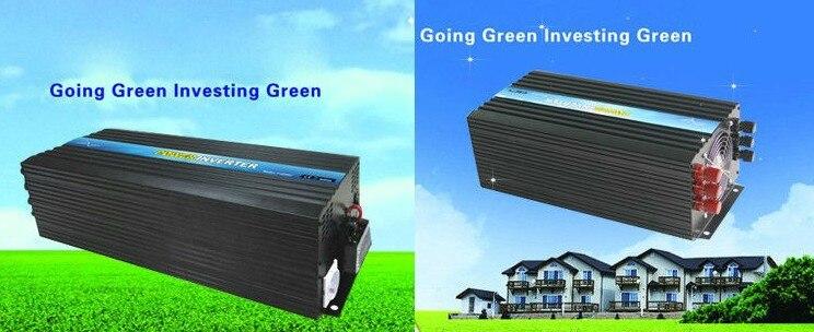 2014 nueva venta caliente 6000 w 12 v/24 v/48 v a ac 240 v sistema Solar inversor inversor Solar PV, inversor fuera de la red mercado de Australia