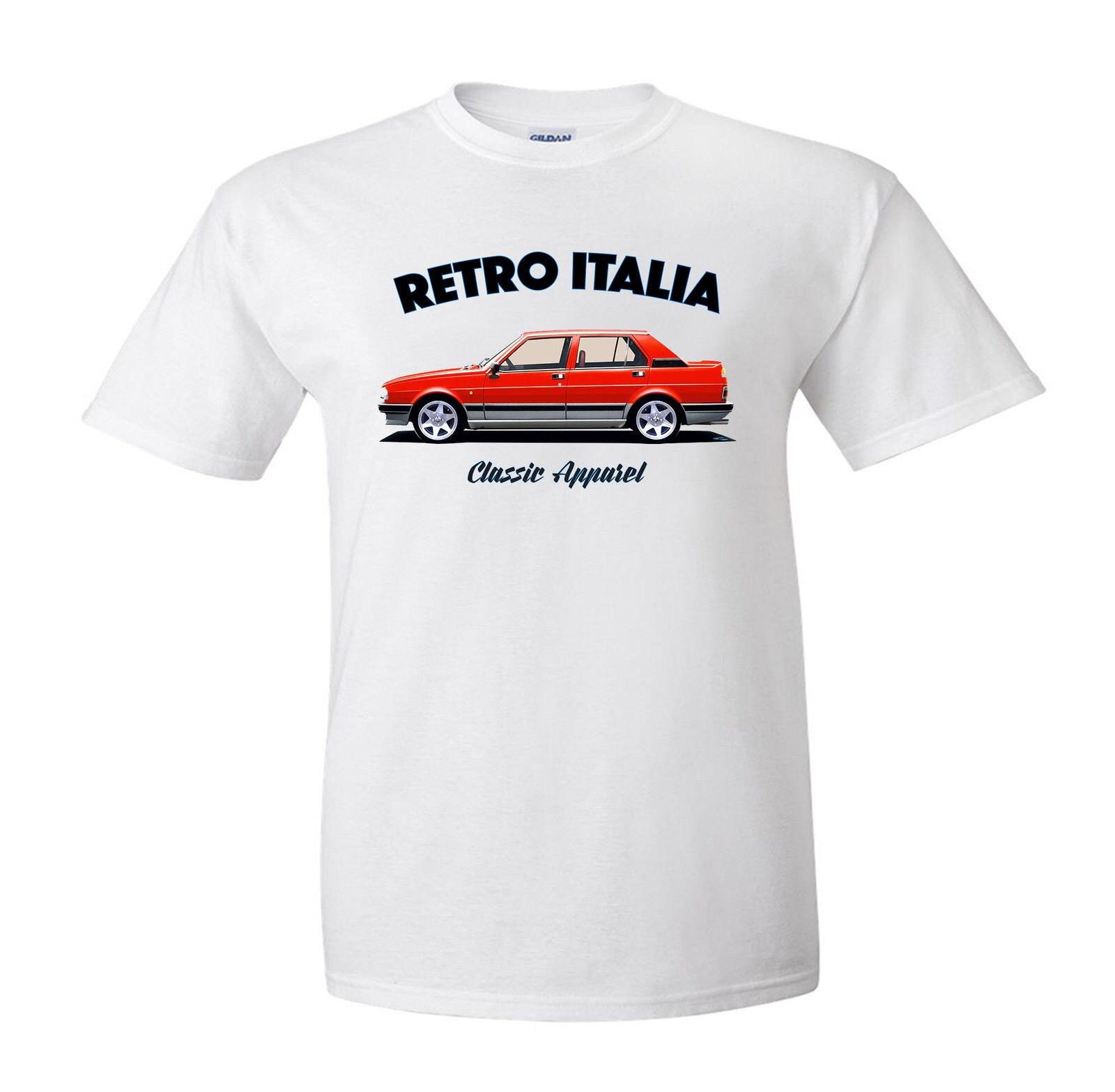 Camiseta de Fans de coches clásicos italianos de alta calidad nueva marca 2019. Retro Italia ¡Coche clásico! Camisas italianas ofensivas