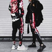 YEELOCA-pantalon corail, imprimé serpent, Streetwear, Hip Hop, Harajuku, coton, haute qualité, collection 2019