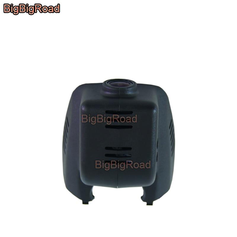 Bigbigroad DVR para automóvil Wifi grabadora de vídeo cámara de salpicadero cámara para Cadillac ATS ATS-L ATSL 2014, 2015, 2016, 2017 FHD 1080P