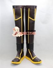 Magi aventure de Sinbad Magi Yunan longue Halloween Cosplay chaussures bottes X002